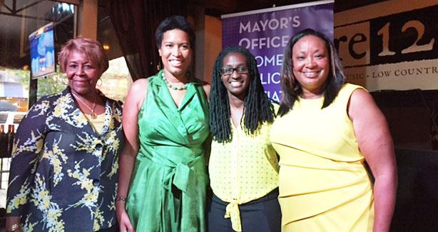 Mayor Bowser at Women's Equality Day Event